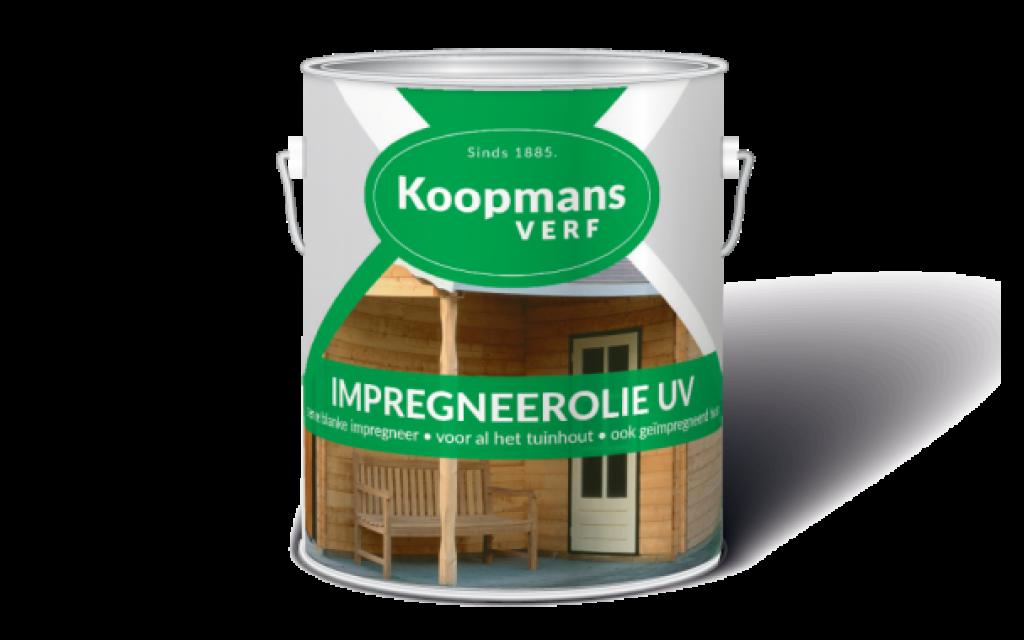 Impregneerolie UV Koopmans Buitenbeits